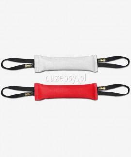 Extra mocny gryzak z węża strażackiego do szkolenia psa K9 z 2 uchwytami 6 x 30 cm