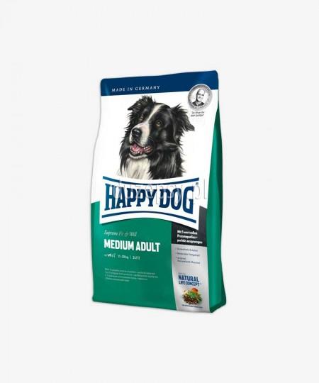 Happy Dog Fit & Well Adult Medium karma dla dorosłych psów średnich ras 12,5 kg