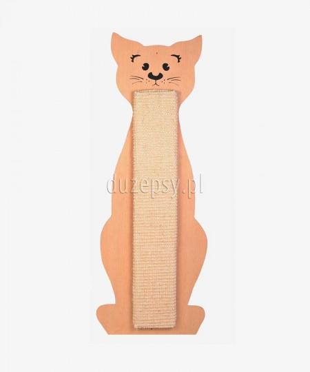 Drapak dla kota z sizalu KOT DUŻY nasączony kocimiętką 21 × 58 cm