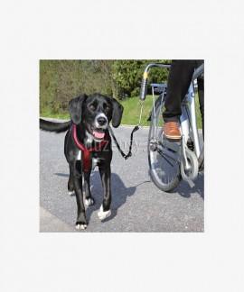 Trixie Biker zestaw z amortyzatorem do jazdy rowerem z dużym psem
