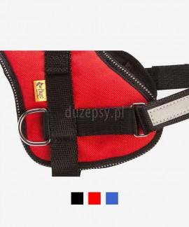 Szelki odblaskowe dla psa typu uprząż STRONG 60-120 cm