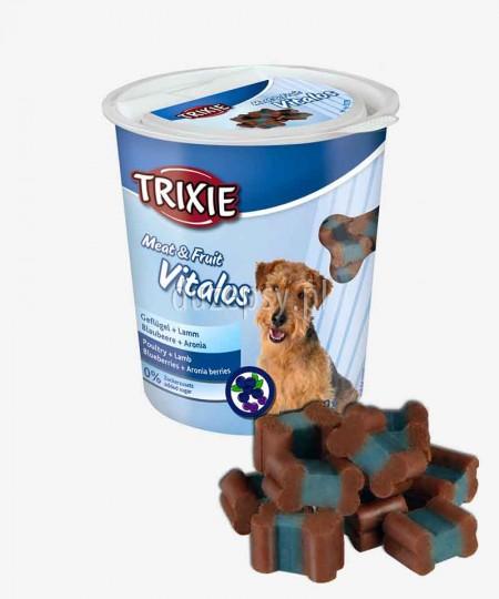 Vitalos mięso i owoce przysmaki dla psa Trixie 200 g