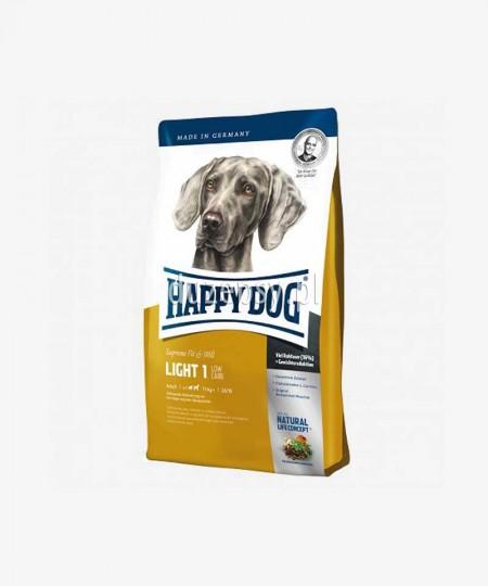 Happy Dog Light 1 Low Crab sucha karma dla psów niskokaloryczna