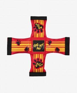 Mocna zabawka z węża strażackiego dla psa pływająca CROSS Trixie ø 26-39 cm