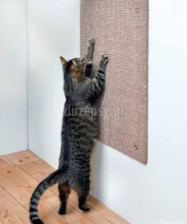 Drapak dla kota na ścianę z sizalu XXL