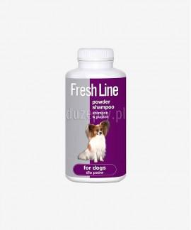 Szampon w pudrze dla psów do kąpania na sucho Fresh Line Dermapharm 250 g - Lawenda