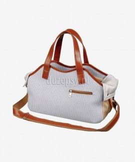 Elegancka torba transporter dla psa lub kota AMBER Trixie 20 × 27 × 42 cm