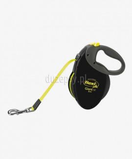 Flexi GIANT Neon M taśma 8 m smycz automatyczna dla psa do 25 kg