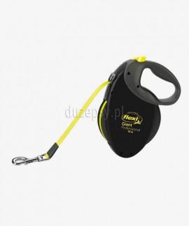 Flexi GIANT Professional taśma neon 10 m smycz automatyczna dla psa do 50 kg