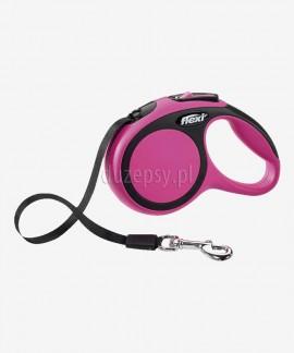 Flexi New Comfort XS taśma 3 m smycz automatyczna dla małego psa do 12 kg