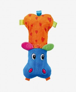 Pluszak dla małego psa maskotka piszcząca HIPPO TRIXIE 14 cm