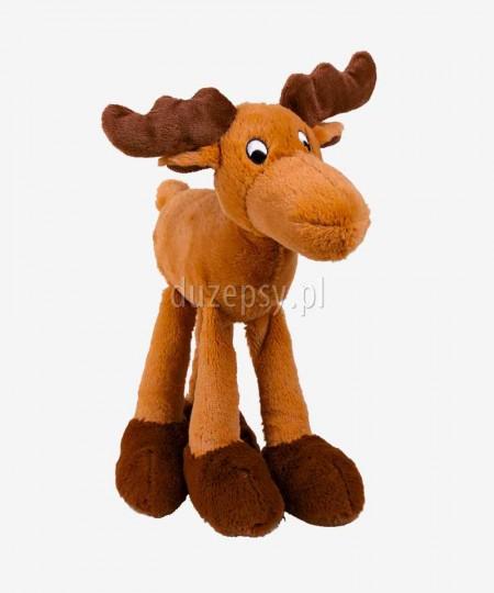 Łoś pluszowa zabawka dla psa piszcząca TRIXIE 30 cm