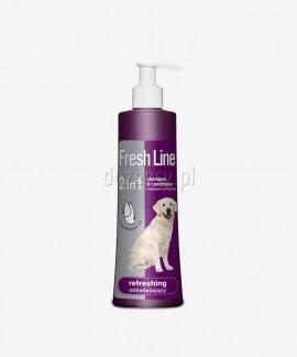 Szampon odświeżający z odżywką dla psów Fresh Line Dermapharm, 220 ml