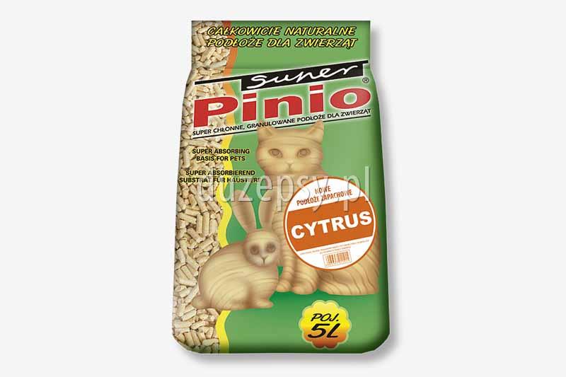Super Pinio Cytrus drewniany granulat żwirek dla kota. Żwirki dla kotów tanio. Żwirek dla kota zapachowy. Pelet dla kota żwirek. Drewniane podłoże dla kotów. Pelet dla kota tanio oferuje sklep zoologiczny internetowy DuzePsy.pl