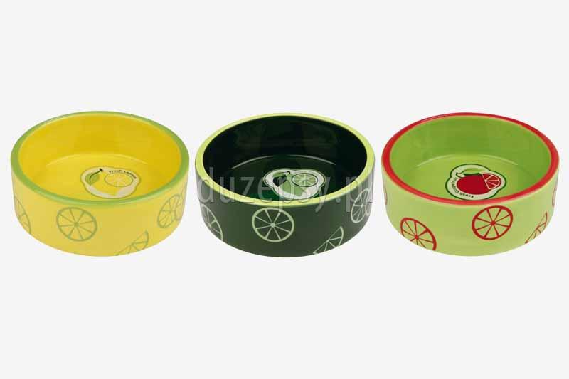 Miska ceramiczna dla psa FRESH FRUITS Trixie. Miski ceramiczne dla psów. Miski porcelanowe dla psa. MIska porcelanowa dla psa. Ładne miski dla psów oferuje sklep zoologiczny duzepsy.pl