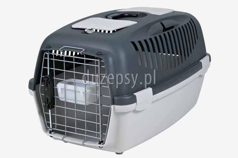 Transporter dla kota GULLIVER 3 do 12 kg. Box transportowy dla kota. Transportery dla kotów. Transporter plastikowy dla kota. Sklep zoologiczny internetowy DuzePsy.pl