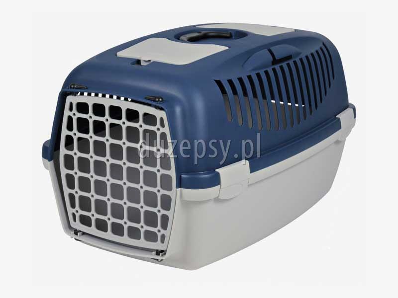 Transporter plastikowy dla psa CAPRI 3 - 40 × 38 × 61 cm. Transporter dla małego psa. Transportery plastikowe dla psów Transportery dla małego psa. Transportery dla psów. Box transportowy dla małego psa. Transporter plastikowy dla kota. Transportery dla kotów. Sklep zoologiczny internetowy DuzePsy.pl