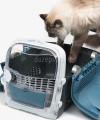 Ekskluzywny transporter dla kota CABRIO Catit czerwony