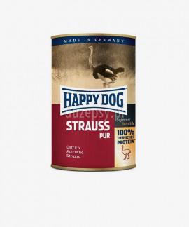 Happy Dog 100% Struś mokra karma dla psów STRAUSS PUR 400 g