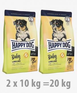 Happy Dog Baby Lamb & Rice karma dla szczeniąt dużych i średnich ras 10 kg