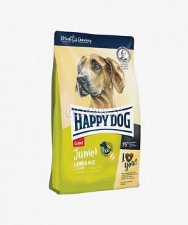 Happy Dog Junior Giant Lamb & Rice karma dla młodych psów bardzo dużych ras 4 kg