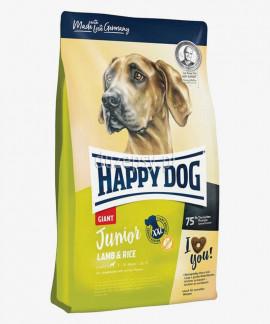 Happy Dog Junior Giant Lamb & Rice karma dla młodych psów bardzo dużych ras 15 kg