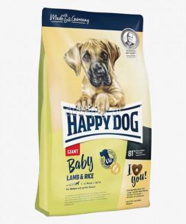Happy Dog Baby Giant Lamb & Rice karma dla szczeniąt bardzo dużych ras 15 kg