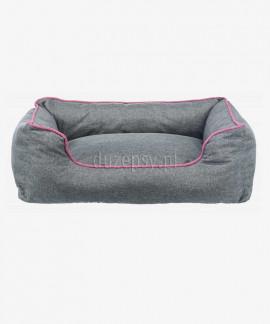 Ortopedyczna sofa kanapa dla psa szaro-różowa VITAL JUNIS Trixie