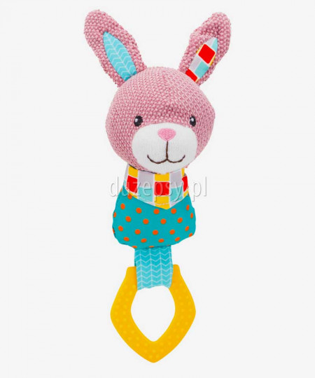 Zabawka dla szczeniaka do gryzienia gryzak królik JUNIOR Trixie