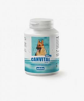 Canvital + tran dla psów na problemy z sierścią MIKITA, 150 tabl.