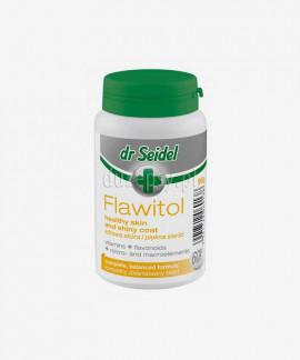 Flawitol zdrowa skóra i piękna sierść tabletki dla psów z biotyną Dr Seidel