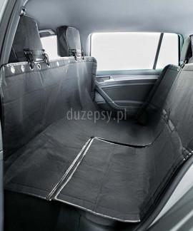Duża mata samochodowa dla psa z ochroną na zagłówki 145 × 160 cm