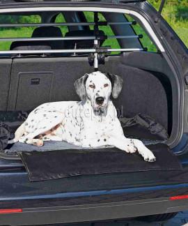Mata ochronna do bagażnika samochodu dla psa 95 × 75 cm