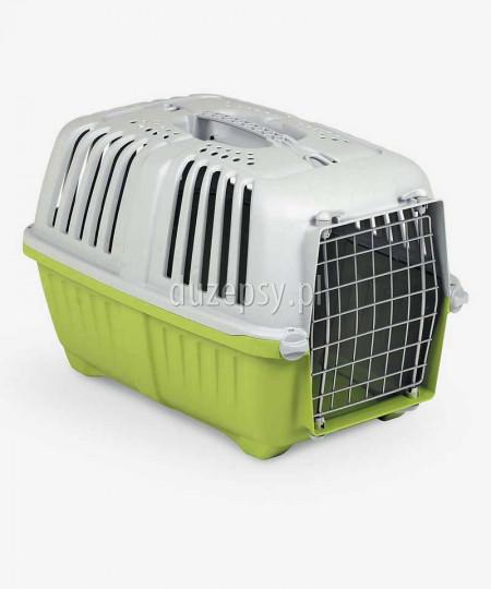 Transporter dla kota plastikowy Pratiko 2 - zielony