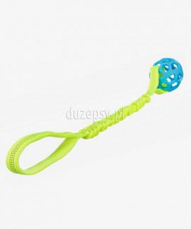 Piłka ażurowa dla psa z uchwytem do przeciągania Trixie ø 7 cm