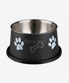 Miska dla psa z długimi uszami stal nierdzewna ø 15 cm
