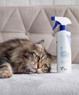 OdorSolution Cat Odor Eliminator przykrych zapachów VETEXPERT 500 ml