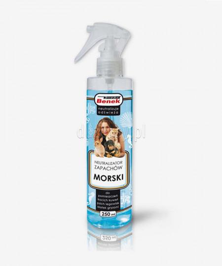Neutralizator zapachów zwierzęcych MORSKI spray Super Benek 250 ml