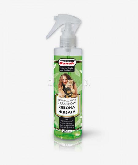 Neutralizator zapachów zwierzęcych ZIELONA HERBATA spray Super Benek 250 ml