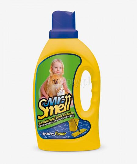 Płyn do podłóg neutralizujący zapachy Mr. Smell KWIATOWY 1 l