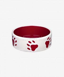 Miska ceramiczna dla psa ŁAPKI