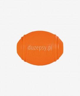 Piłka gumowa na przysmaki dla psa RUGBY 8, 10 cm