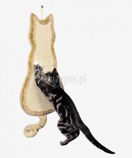 Drapak płaski z sizalu nasączony kocimiętką 15 x 62 cm Trixie