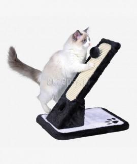 Drapak dla kota słupek z zabawką 30 × 42 × 40 cm