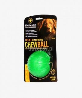 Piłka dla psa na przysmaki extra mocna STARMARK Ø 9 cm
