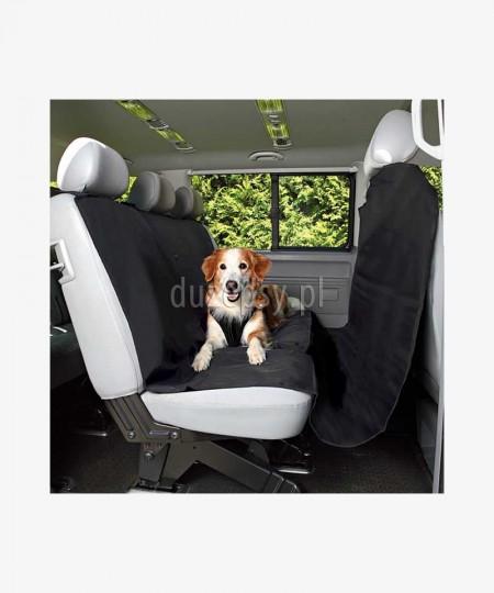 Duża mata ochronna na siedzenia samochodu dla psa 145 x 215 cm