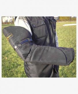 Rękaw ochronny dla pozoranta skórzany miękki, uniwersalny – na lewą i prawą rękę
