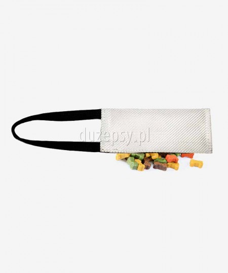 Gryzak z węża strażackiego z kieszenią na przysmaki dla psa K9 Dingo 8 x 20 cm