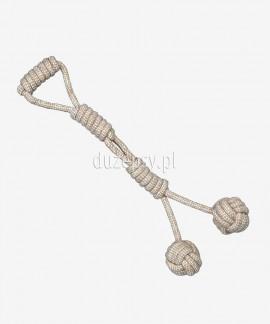 Piłki aportowe dla psa z linki bawełnianej Denta Fun Trixie 54 cm