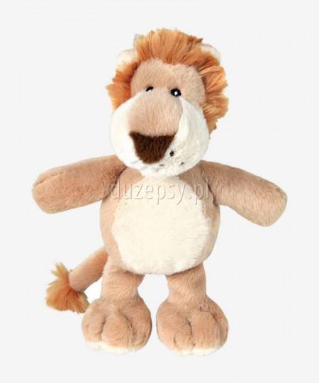 Lew pluszowa zabawka dla psa piszcząca TRIXIE 22 cm